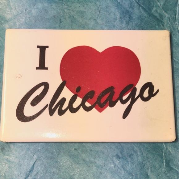 I love Chicago vintage magnet